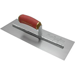18x3 Finishing Trowel Curved DuraSoft Handle