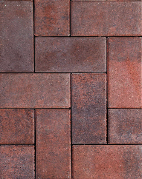Hollandstone Paver Premier Heritage Brown