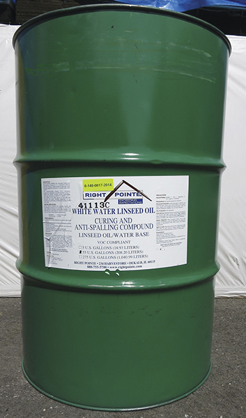 White Water Linseed Oil 55 Gallon Drum