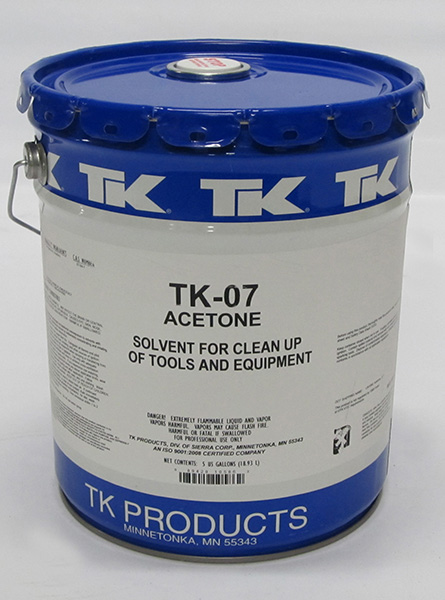 TK-07 Acetone 5 Gallon