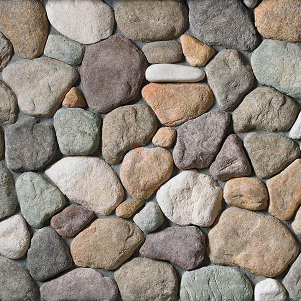 Cultured Stone River Rock- Lakeshore