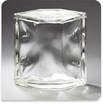 Glass Block Hedron Clear