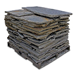 Blue / Brown Rustic Standup Flagstone