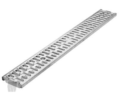 ACO Slotted Galvanized Steel Grate, 31540