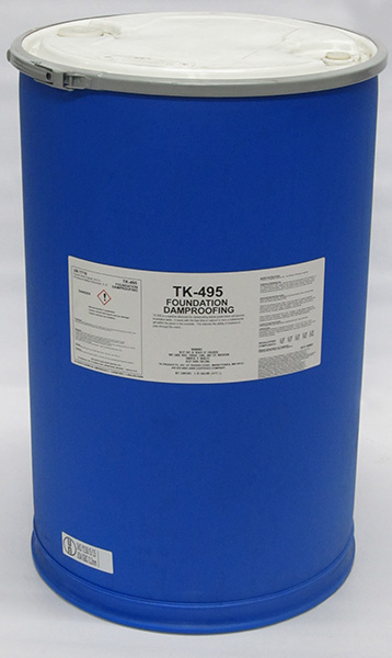 Foundation Dampproofing 55 Gallon Drum