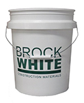 brock white 5 gallon pail