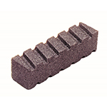 "8"" Fluted 20 Grit Rub Brick"