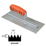Sawtooth V-notch Trowel with ProForm® Handle