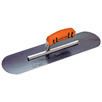 "20""x5"" Blue Steel Cement Trowel with a ProForm® Handle on a Short Shank"