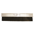 """36"""" Aluminum Natural Horsehair & Poly Blend Concrete Finish Broom"""