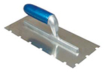 Round Notched Trowel .25 x 1.5