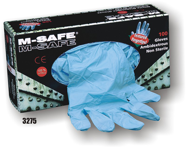 Nitrile Disposable Gloves, blue