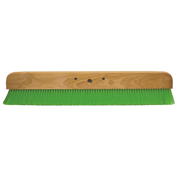 "24"" Green Nylex Finish Broom with Handle"