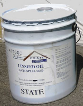 Linseed Oil Anti-spall 50/50 5 Gallon