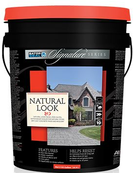 Gator Seal Signature Series Natural Look 5 Gallon