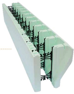 Nudura Brick Ledge Form Unit