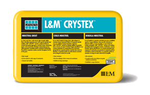 Laticrete Crystex Grout, 55 Lb