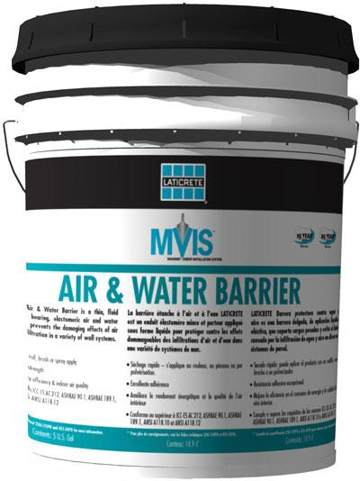 MVIS Air and Water Barrier