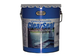 Pail of Increte Clear Seal
