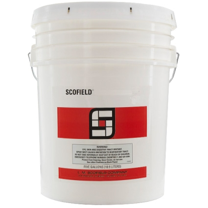 Pail of Scofield Formula One Lithium Densifier