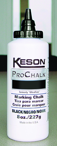 Keson 8once Black Chalk
