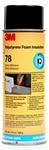 3M 78 Polystyrene Insulation Spray Adhesive