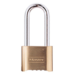 "Master Lock Resettable Combination Padlock, 2-1/4"" Shackle 175Lh"