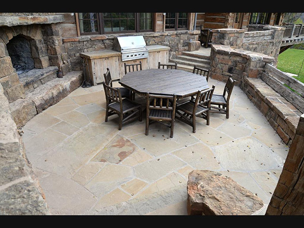 "BW Natural Stone Frontier Flagstone 1-1/2""x2-1/2"""