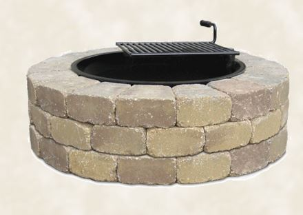 Willow Creek Fire Ring With Grate