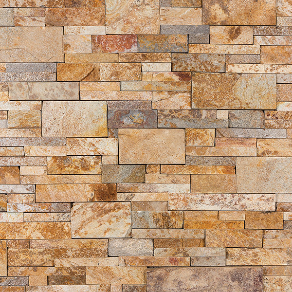 Vintage Gold Tailored Ledgestone