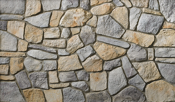 Boral Old Country Fieldstone Coastal Fog