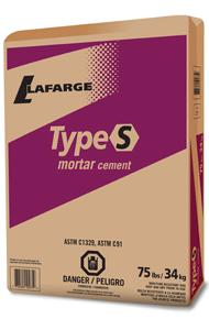 Lafarge Type S Mortar Cement