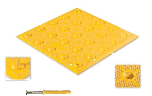 "Access Tile Surface Applied w/Adhesive & Anchor, FY 24""x48"""