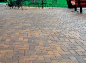 CP of New London Rectangle Paver, Buff Blend