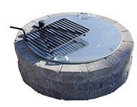Rochester Concrete Round Fire Ring Cover