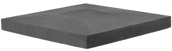 Anchor Flat Top Column Cap Charcoal