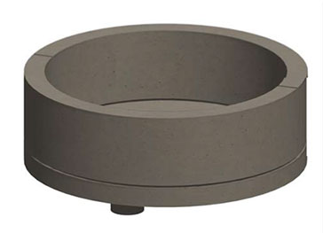 """StoneAge Fire Pit Short, Round, 36""""x14""""x42"""""""