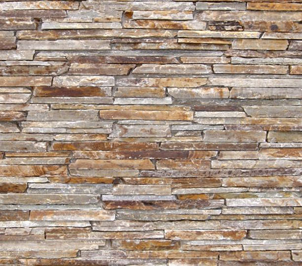 Rocky Mountain Quartzite Honey Contemporary Ledge Stone