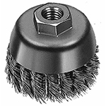 "Brush Wire Cup, 4"" Twisted 48-52-1350"