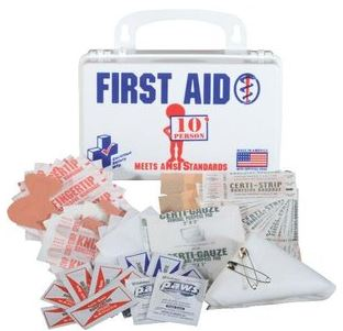 10 Person First Aid Kit #325236