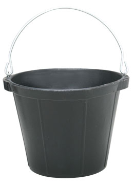 Fortex Rubber Pail, 10 Quart N2-00-10