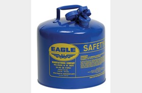 Eagle Kerosene Can, Blue, 5 Gallon