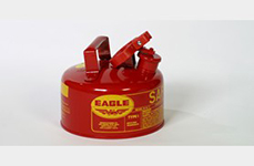 Eagle Safety Gas Can ,Red, 1 Gallon