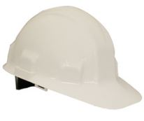 Jackson Safety White Hard Hat with Ratchet Suspension