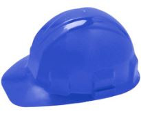 Jackson Safety Blue Hard Hat with Ratchet Suspension