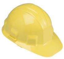 Jackson Safety Yellow Hard Hat with Ratchet Suspension