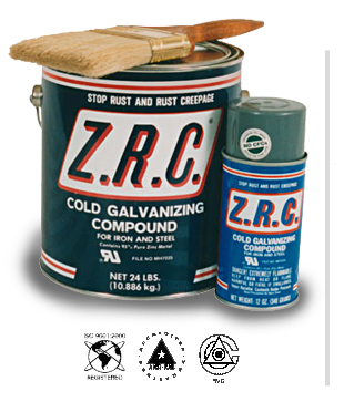 Brock White | Galvanizing Compound Spray, Cold ZRC 12 oz