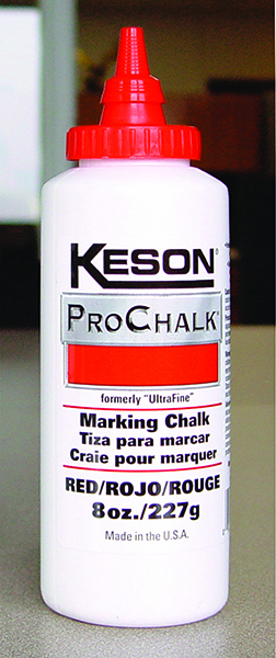 Keson 0ounce Red ProChalk