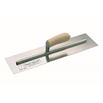 "10""x3"" Cement Trowel w/Camel Back Wood Handle"