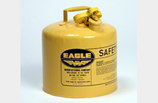 Eagle Diesel Gas Can, Yellow, 5 Gallon